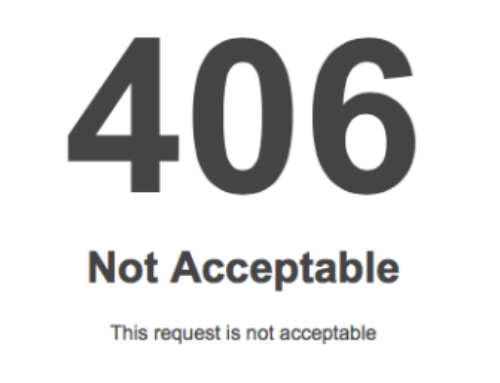 WordPress: Error 406 – Not Acceptable